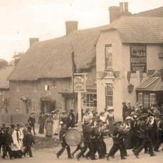 Procession to celebrate George V's coronation, 1911